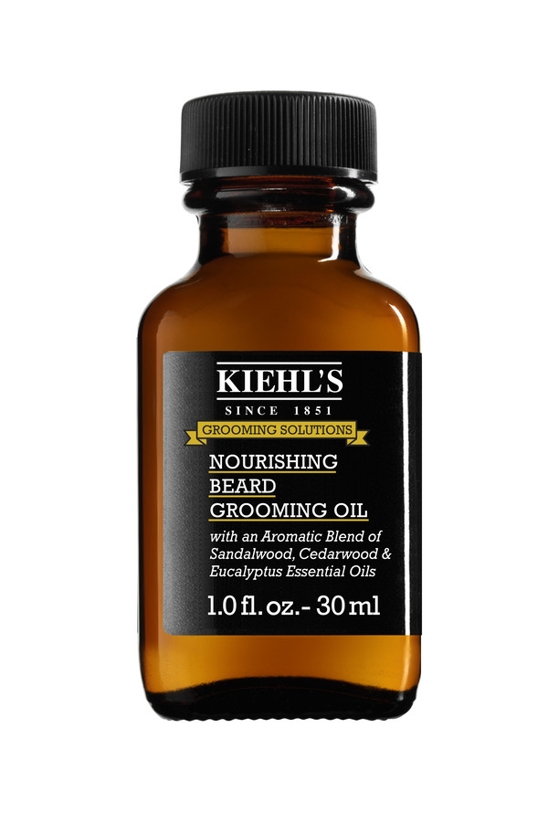 Kiehl's מותג הטיפוח הניו- יורקי משיק שמן הזנה לזקן ולעור הפנים: NOURISHING BEARD OIL. סקירה דוסיז צרכנות