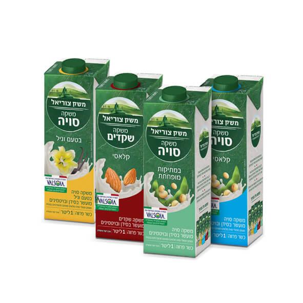 סדרת תחליפי החלב האיטלקית – במשק צוריאל בישראל ובכשרות מהודרת. סקירה דוסיז צרכנות
