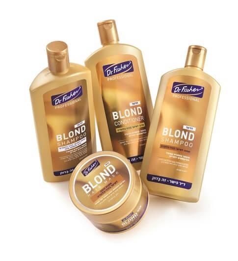 """ליום הבלונד הבינלאומי מציעה ד""""ר פישר את סדרת ה-PROFEESIONAL לשיער בהיר-בלונדיני. סקירה דוסיז צרכנות"""