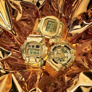 מותג השעונים SHOCK-G מבית CASIO, מציג קולקציית שעונים מוזהבים- זהב על היד! סקירה דוסיז צרכנות