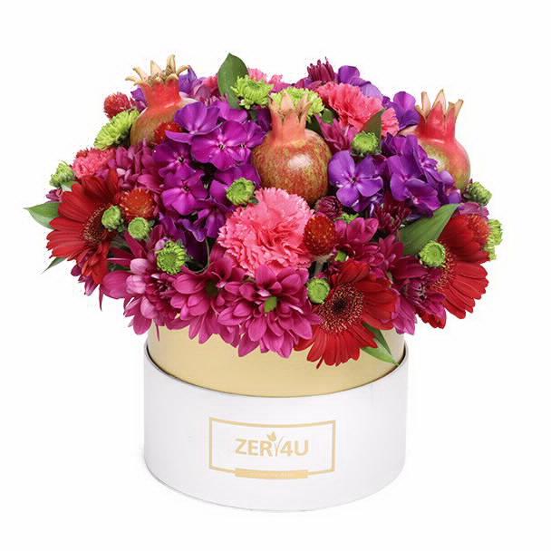 ZER4U לשנה טובה מלאה בפרחים. סקירה דוסיז צרכנות