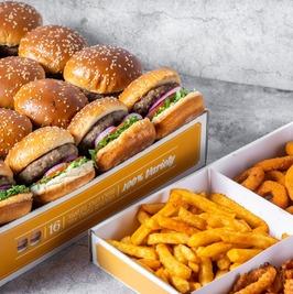רשת Burgerim הכשרה מציעה מארזי חגיגה מהודרים . סקירה דוסיז צרכנות