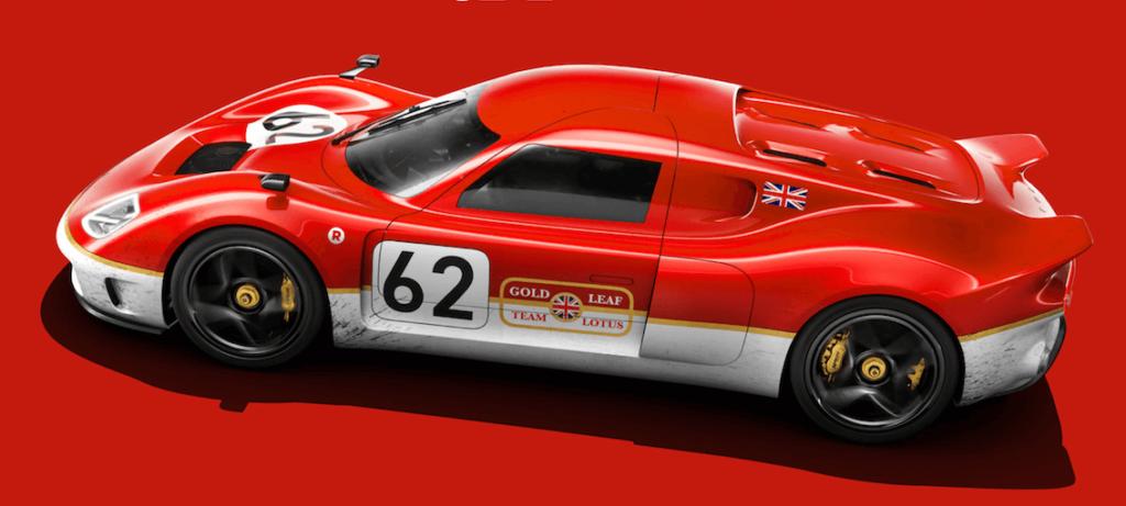 האגדה המוטורית משנות ה-60 קמה לתחייה: Lotus Type 62.2