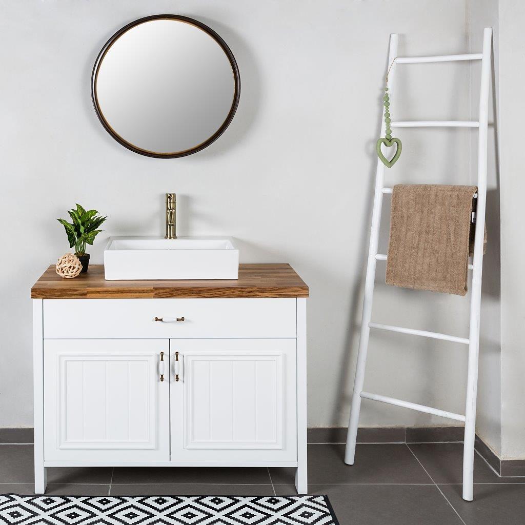 חמישה דברים שחדר האמבטיה שלכם חייב שיהיו בו. סקירה דוסיז צרכנות