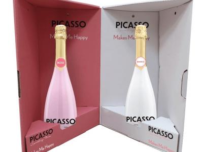 בנא משקאות משיקים מארז יינות PICASSO מעוצב וחגיגי במחיר מיוחד. סקירה דוסיז צרכנות