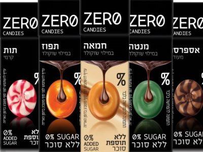 מהפכה בשוק הסוכריות ללא סוכר Endless Taste, Zero Suger. סקירה דוסיז צרכנות