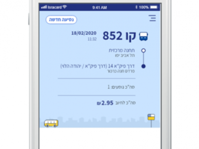 ישראכרט משיקה את אפליקציית ANYWAY לתשלומים מתקדמים בתחבורה הציבורית. סקירה דוסיז צרכנות