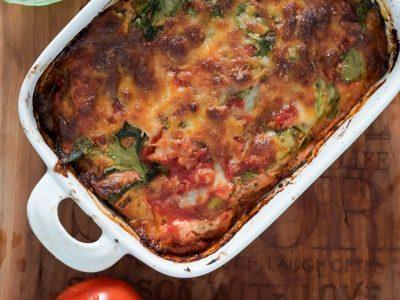 מאיטליה באהבה: לזניה עגבניות ותרד מועשרת בחלבון. סקירה דוסיז צרכנות