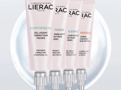 ליראק פריז - סדרה טיפולית לעיניים מחיר 129 שח לכל מוצר צילום יחצ חול | סקירה