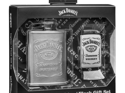 מארז מתנה מצית זיפו ופלאסק וויסקי, 299 שח, להשיג באתר המותג www.Zippo.co.il, יחצ חול
