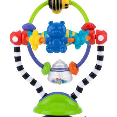 המותג NUBY מציג: משחק גלגל צבעוני ואינטראקטיבי. סקירה דוסיז צרכנות