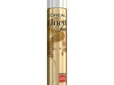 מותג טיפוח השיער הבינלאומי לוריאל פריז מציע את ספריי השיער המיתולוגי ELNETT. סקירה דוסיז צרכנות