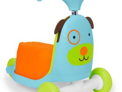 מותג האקססוריז וצעצועי הילדים האמריקאי Skip hop מציע קורקינט לילדים. סקירה דוסיז צרכנות