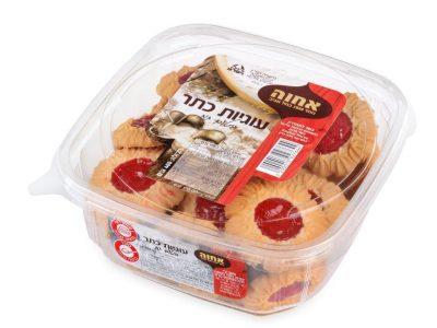 עוגיות כתר בטעם תות אחוה צילום יעל האן | סקירה