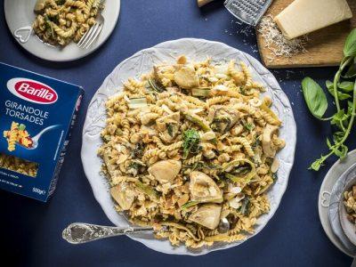 ברילה מגישה: ארוחה קלה להכנה וטעימה - פסטה ירוקים. סקירה דוסיז צרכנות