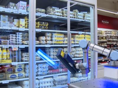 רובוט ה-ER-FLEX, שמצוייד בתאורת UVC | סקירה