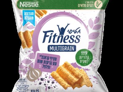 השקה חדשה בסדרת Fitness Multigrain: 'אסם-נסטלה' משיקה את Fitness Multigrain עם נגיעות שום ופלפל. סקירה דוסיז צרכנות