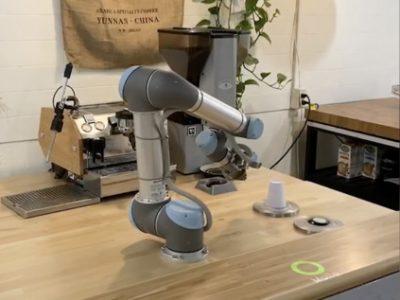בימי קורונה גם רובוט יכול לעשות הסבה מקצועית לבאריסטה. סקירה דוסיז צרכנות