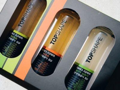 משקה ויטמינים של המותג TOPSHAPE נחת לראשונה בישראל . סקירה דוסיז צרכנות