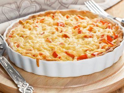 מתכון: פשטידת גבינות ופלפלים מושלמת למשלוחי מנות. סקירה דוסיז צרכנות