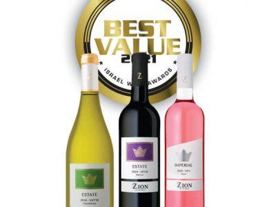 הצלחה לסדרת ESTATE בתחרות היין BEST VALUE 2021. סקירה דוסיז צרכנות